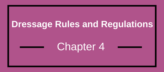 Dressage Rules and Regulations